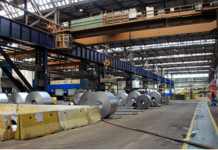 The workshop of Smederevo Steel Mill, recently acquired by a Chinese firm. (Photo: Ren Yan from People's Daily)