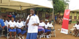 Pupils display knowledge of Malaria in a sketch