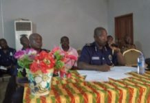 DCOP Ken Yeboah, Northern Regional Regional Police Commander addressing the meeting in Tamale on Friday