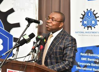 Mr John Kweku Asamoah, the MD/CEO of the bank