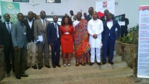 Second from right, Mr Samuel Okudzeto-Ablakwa, Deputy of Education and other dignitaries at the launch
