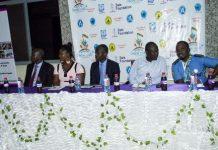 Dignitaries at the launch