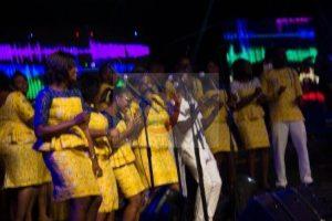 Rev Nana Perbi Performs With Viva Voices