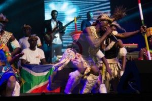 Ghana-South Africa Zulu Dancers