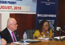 Mrs Charlotte Osei, the EC Chairperson