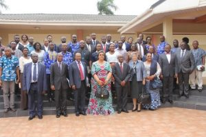 UNDP and Ministry of Foreign Affairs officials in a group photograph