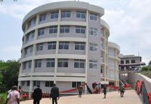 the structure of the Library/ICT Complex at the Mfantsipim School.