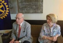 Mr John Germ, the President of Rotary International