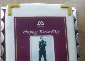 Akwabaoh's birthday cake