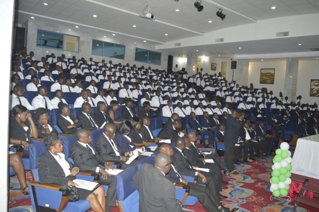 A section of the 400 delegates from all over the country who attended at the Olam Annual Cocoa Managers' Conference in Accra