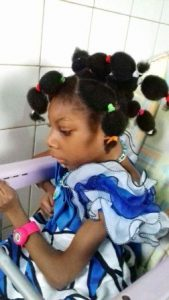 A child with cerebral Palsy