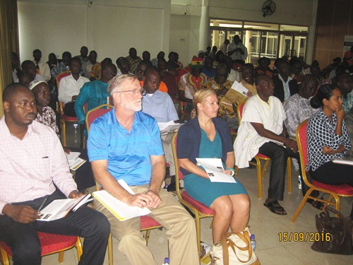 Participants at the NGGA project launch in Tamale.