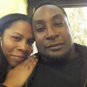 Keith Scott of Charlotte and his wife