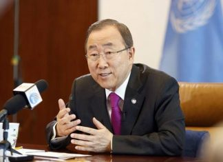 Interview of Mr. Ban Ki-moon to People's Daily