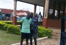 Samuel Ntem an ex-policeman in prison custody