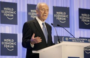 Shimon Peres at the World Economic Forum on the Middle East (2009)