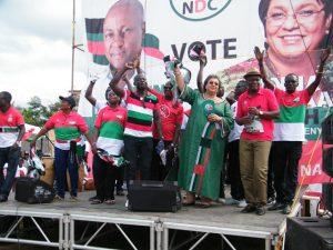 The Awutu-Senya West constituency National Democratic Congress (NDC) branch campaign