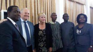 ADRA President with ADRA Ghana delegation