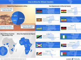 african visa infographic