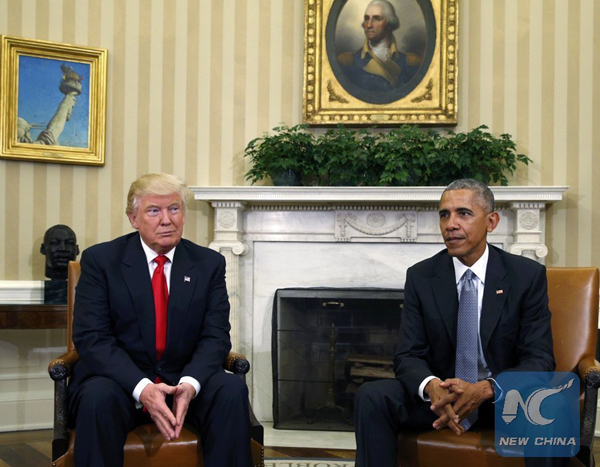 Donald Trump reconsiders Obamacare scrap pledge following talks with Barack Obama