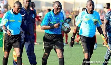 Ghanaian Referee
