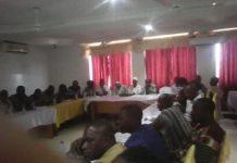 Participants at the Sensitization Forum for CSOs on SADA Master Plan