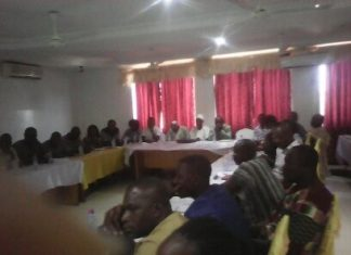 Participants at the Sensitization Forum for CSOs on SADA Master Plan