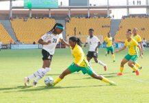 Black Queens Of Ghana Beat Bayana Bayana