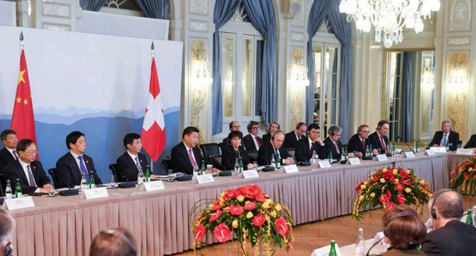 China and Switzerland