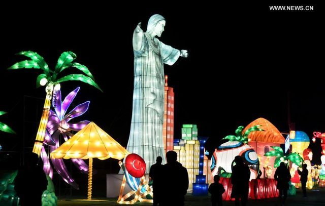 CHINA-SHAANXI-LIGHT FESTIVAL-BELT AND ROAD (CN)