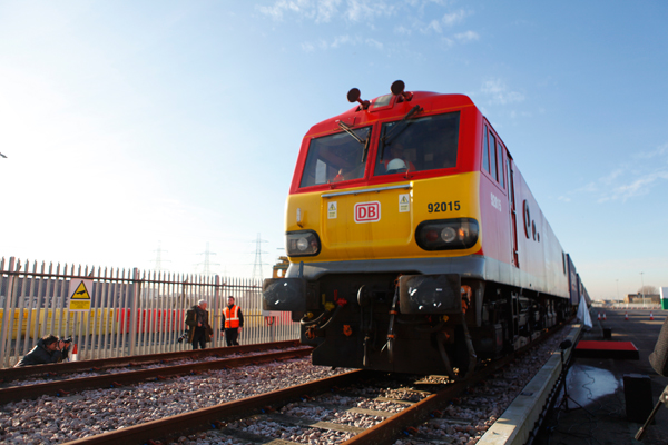 First freight train from China to London completes maiden journey