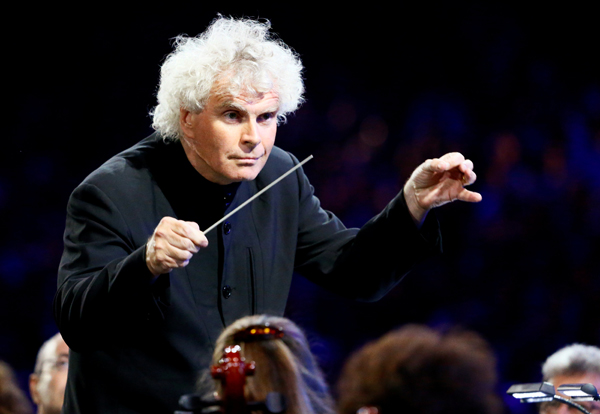 Simon Rattle offers up musical 'tapas bar' for first season in London