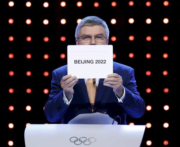 Xi promises green and corruption-free Beijing Winter Olympics on visit to IOC