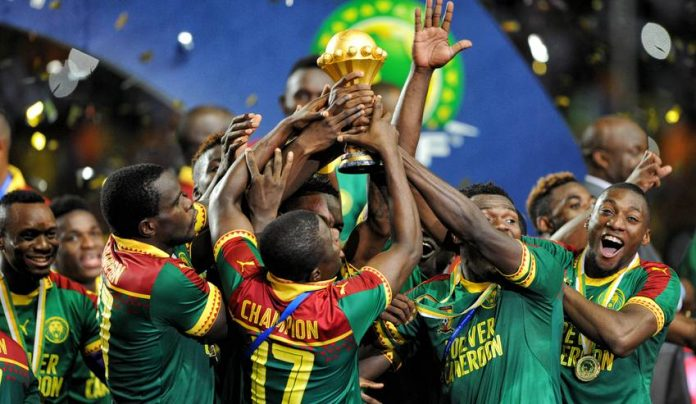 2017 Afcon Winners Cameroon