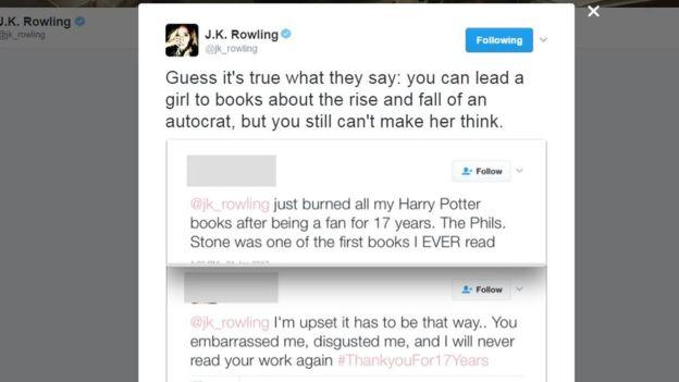 Twitter/JK Rowling