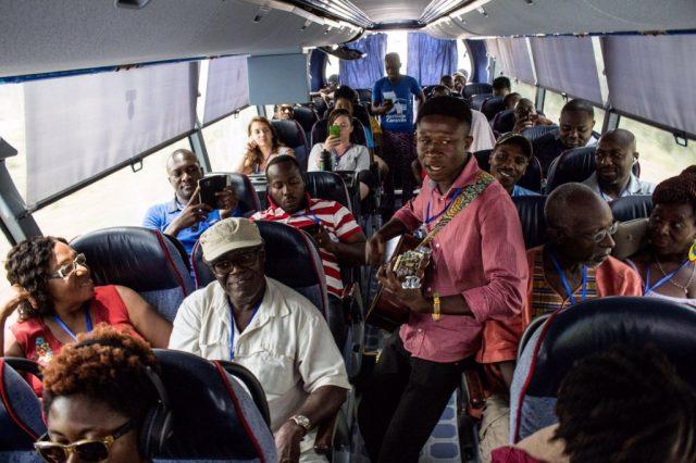 From Adaklu, the #HeritageCaravan went to the Eastern Region, before heading for #Kumasi.
