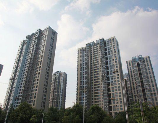 A housing project in Nanjing, capital of East China's Jiangsu province. [Photo/Asianewsphoto]