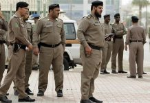 Last month two policemen were shot and injured in a similar attack in Riyadh [AP File Photo]