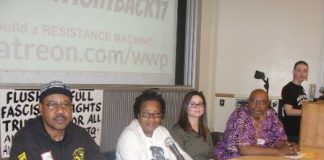 Abayomi Azikiwe on WSU panel discussing fighting capitalism around the world