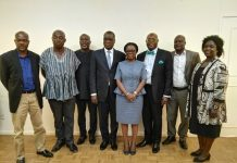 GOGSPA EXECUTIVES WITH GNPC BOSS