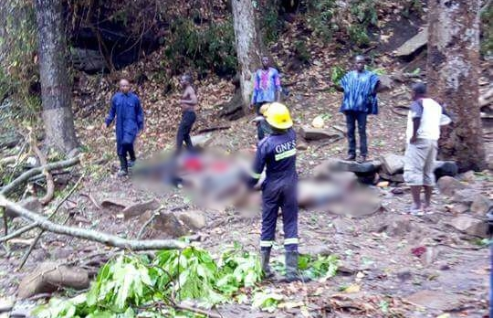 Dead After Freak Accident at Waterfall