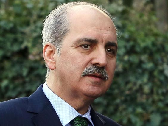 Numan Kurtulmus, Turkey's Deputy Prime Minister, claims the country is a victim of negative propaganda (Getty).