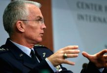 Gary Cameron | Reuters Vice Chairman of the Joint Chiefs of Staff U.S. Air Force General Paul Selva speaks at the Center for Strategic and International Studies in Washington, U.S., October 28, 2016.