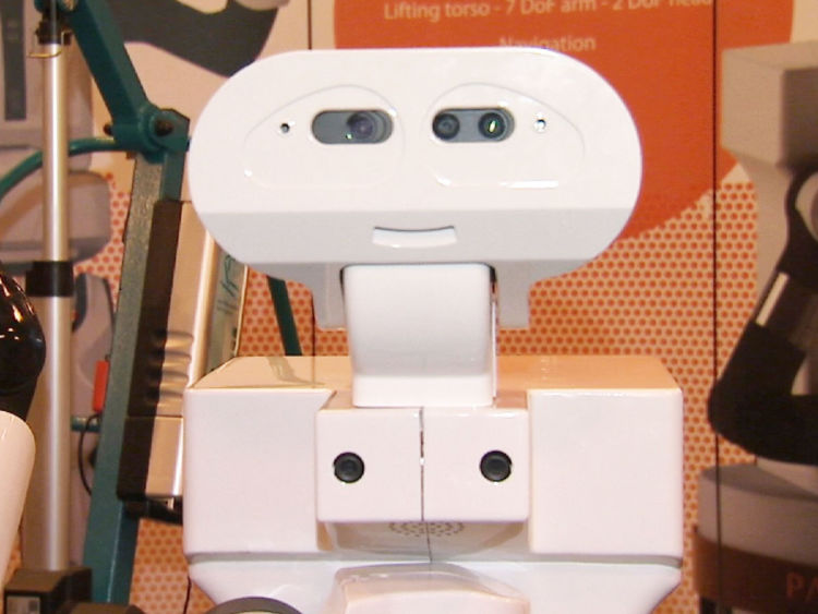 """Scientists have showcased """"socially-intelligent"""" robots which they believe will help tackle loneliness."""