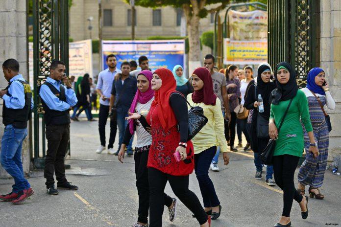 Cairo university student sexually harassed