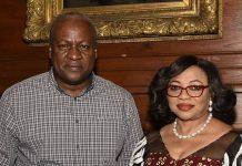 Folorunsho Alakija and John Mahama