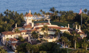 Mar-a-Lago, an estate and National Historic Landmark in Palm Beach, Florida. Source: Xinhua News Agency