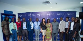 Minister of Communications visit Tigo