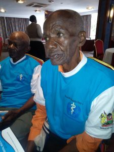 Older persons advocate against depression