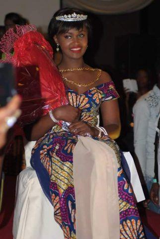 Reigning Miss Ghana Belgium